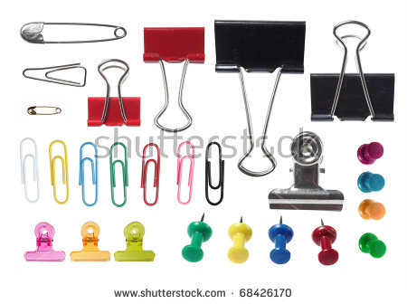 Paper Clip Stock Images, Royalty.