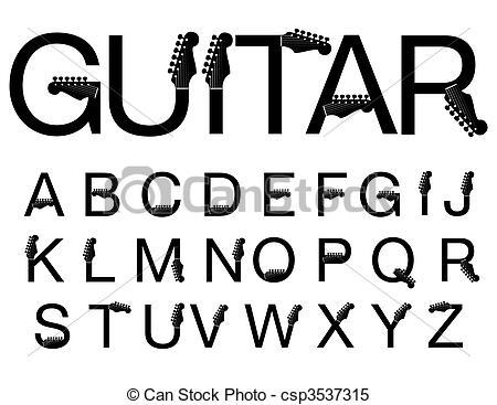 Typeface Clipart.