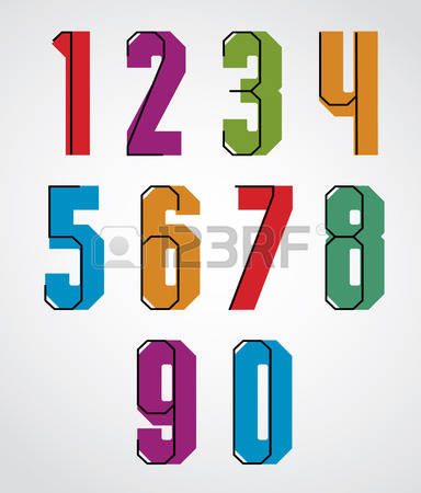 262 Condensed Typeface Stock Vector Illustration And Royalty Free.