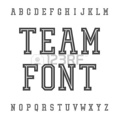 Typeface clipart #11