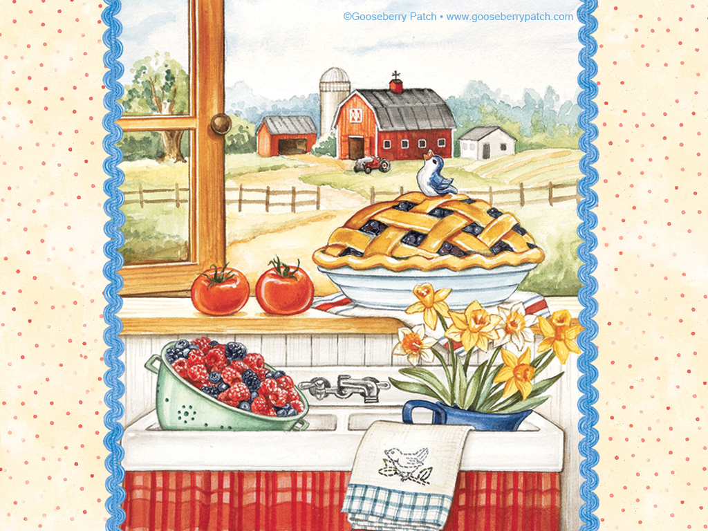 Gooseberry Patch Clipart.
