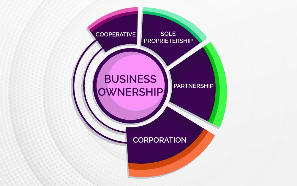 Types of businesses and ownership:.