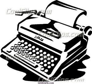 Typewriter 20clipart.