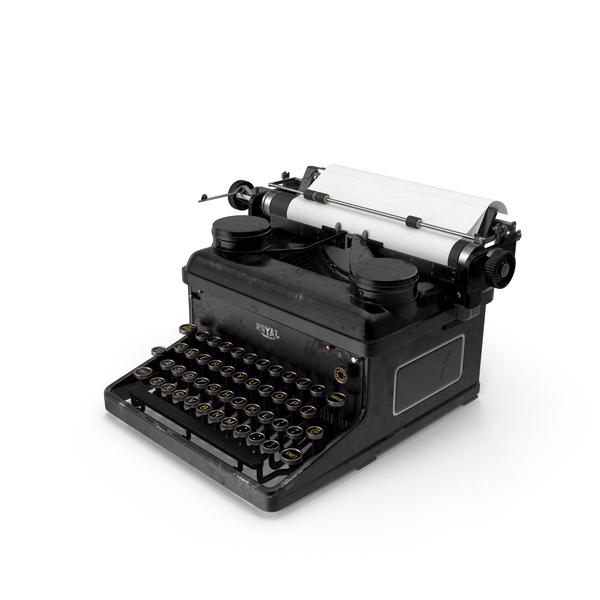 Vintage Royal Typewriter PNG Images & PSDs for Download.
