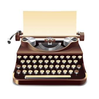 Typewriter Vectors, Photos and PSD files.