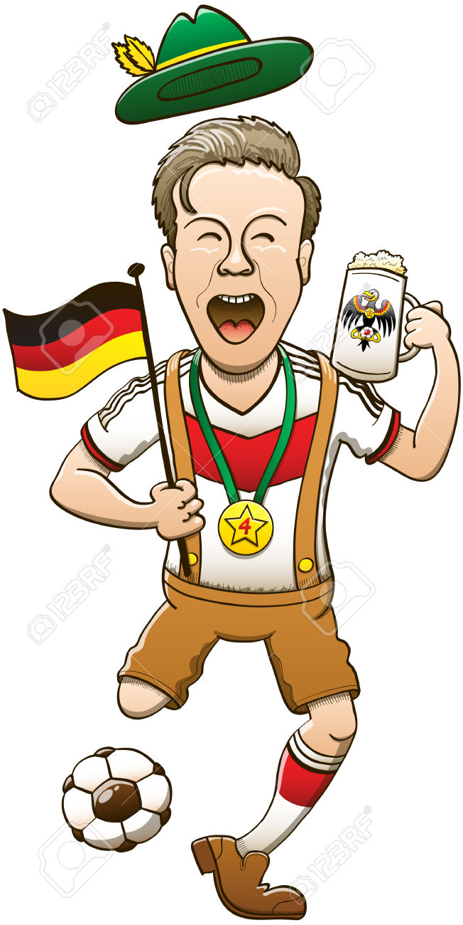 German man clipart.