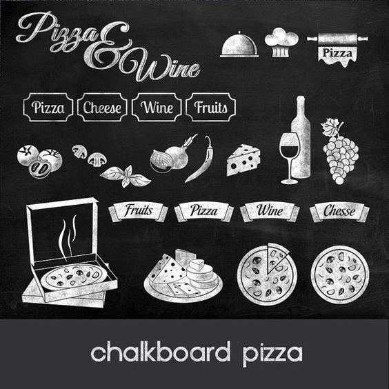 Pizza clipart:.