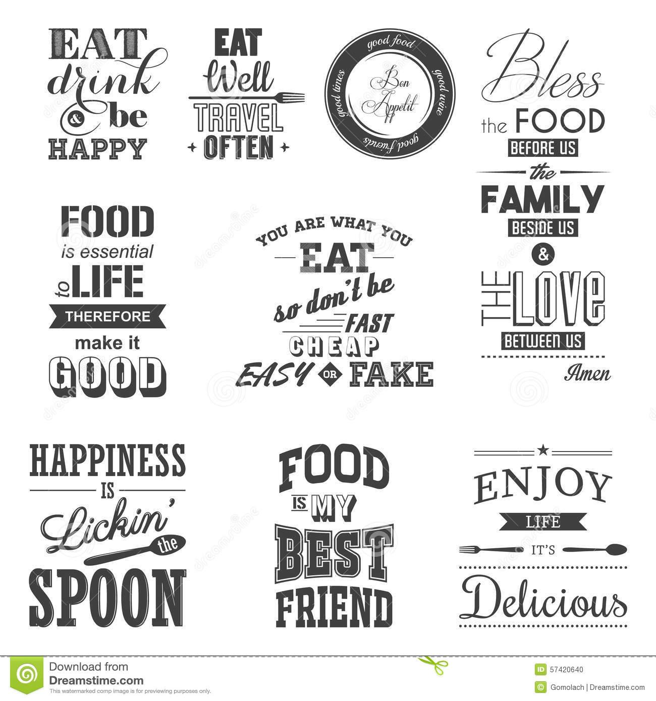 Typographic Stock Illustrations.