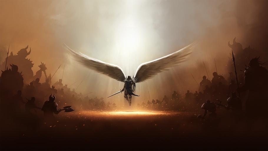 Tyrael Diablo, Tyrael Diablo III, Tyrael Diablo 3, Angel, Tyrael.