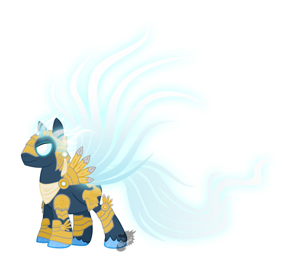 My little Tyrael by Chagial on DeviantArt.
