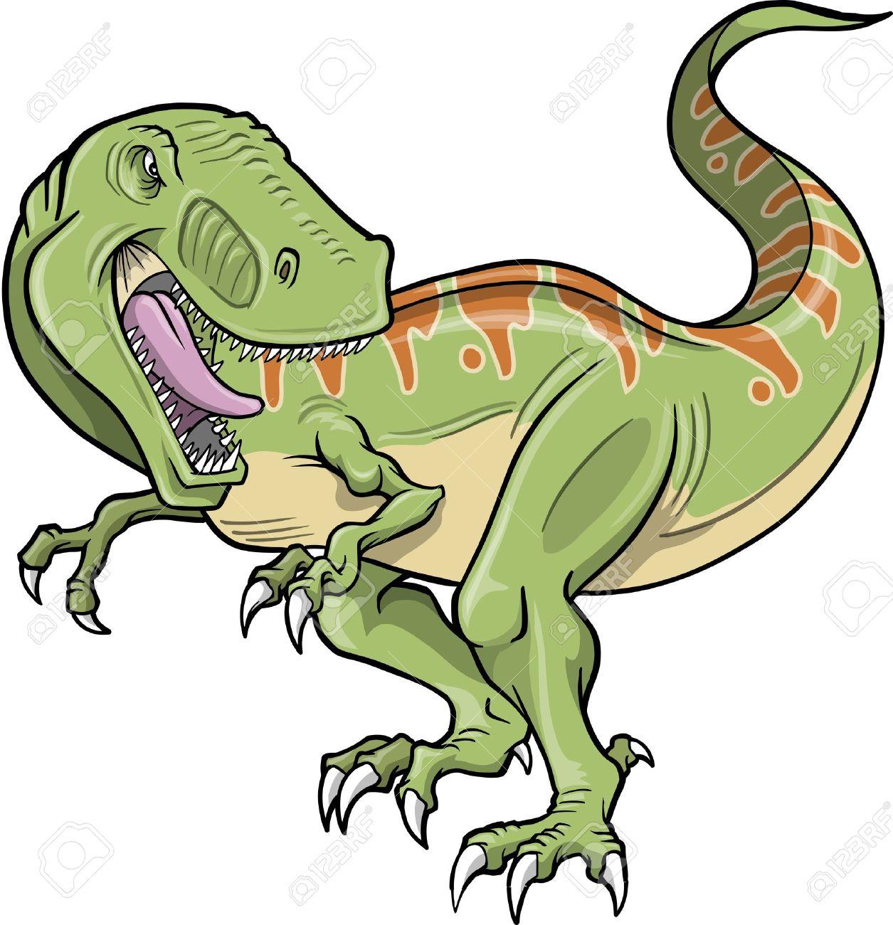 Jurassic park t rex clipart.
