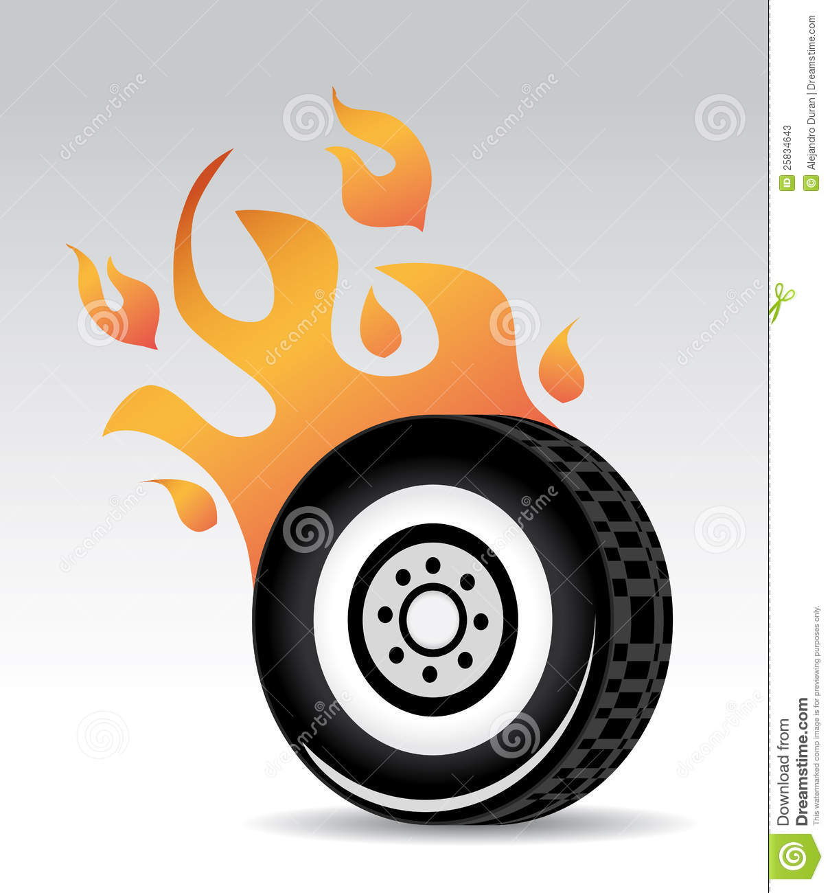 Tire Burning Stock Photos.