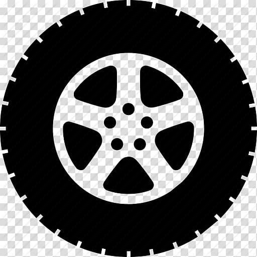 Gray vehicle wheel illustration, Car Tire Computer Icons.