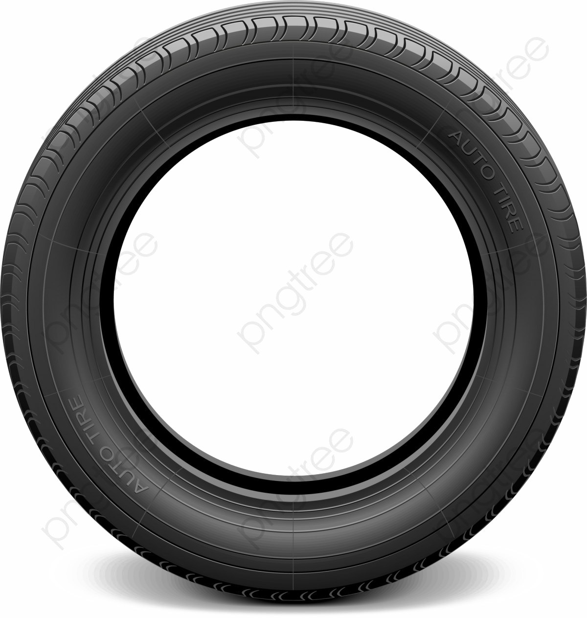 Tyre PNG Picture.