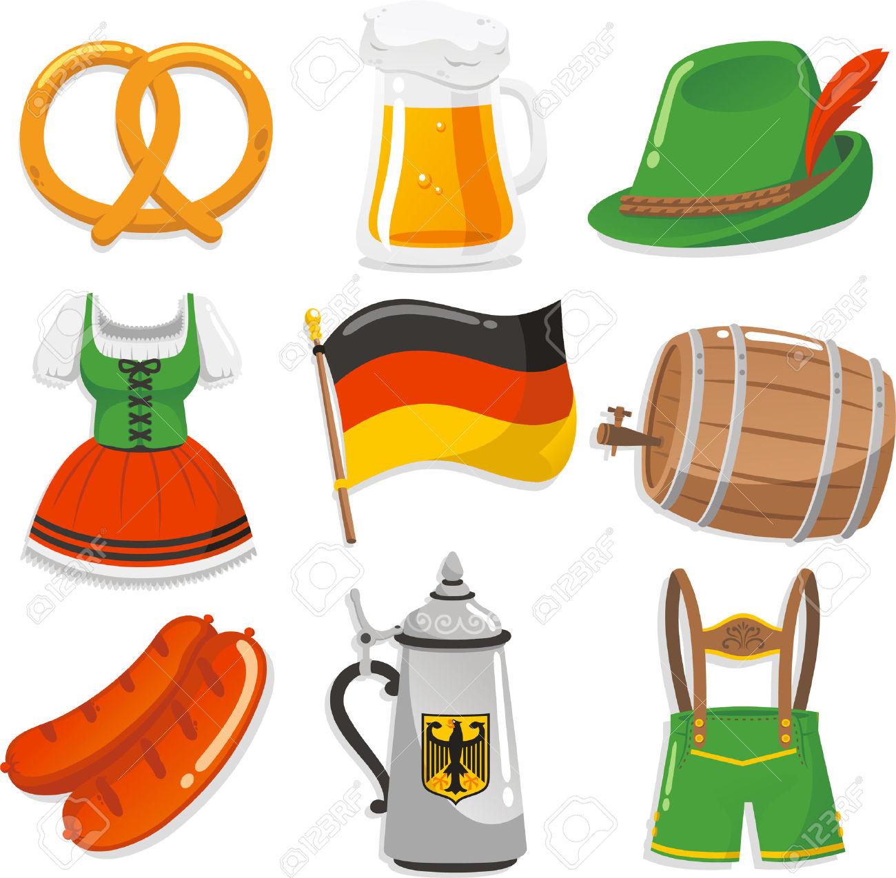 German hat clipart.