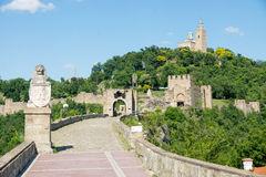 Tsarevets Fortress And The Patriarchal Church In Veliko Tarnovo.