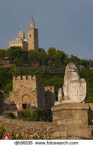 Stock Image of Bulgaria, Europe, Veliko Tarnovo, Fortress of.
