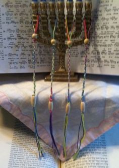 tzitzit bracelet I like this idea.