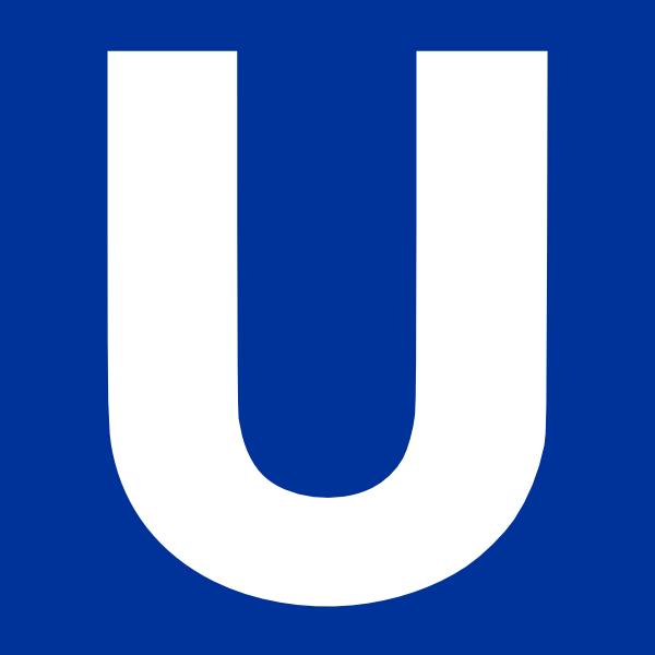 U Bahn Clip Art at Clker.com.