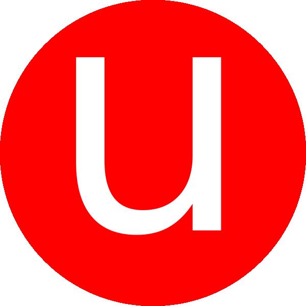 Letter U.