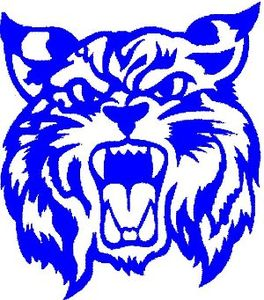 U Of K Wildcats Basketball Clipart.