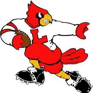 U of L cardinal.