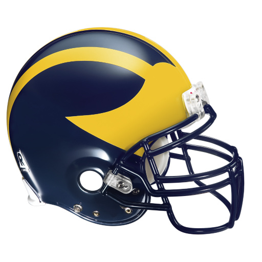 University Of Michigan Football Clipart.
