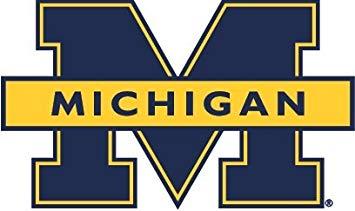 Amazon.com: 3 inch University of Michigan Wolverines UM U.