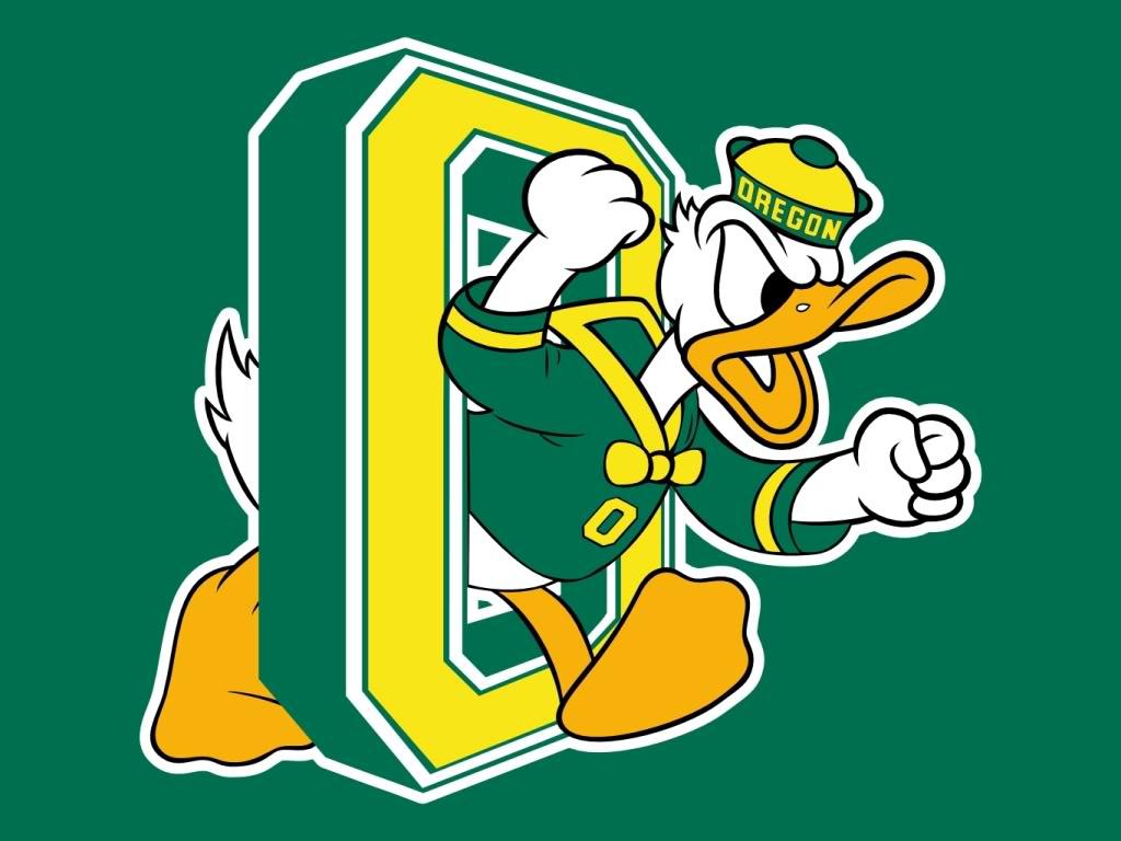 University of Oregon 3\' x 5\' Logo Mat.