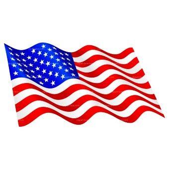 American flag clipart free usa flag.
