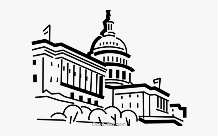 Us Capitol Building Easy Drawing.