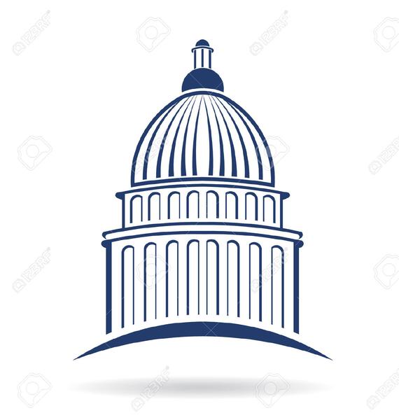 U S Capitol Clipart.
