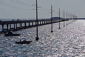 Stock Photo of Seven Mile Bridge carries US Highway 1, the.