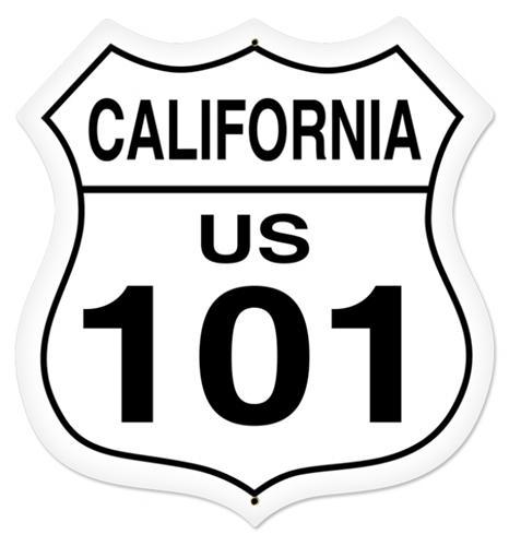 U S Highway 101 Clipart