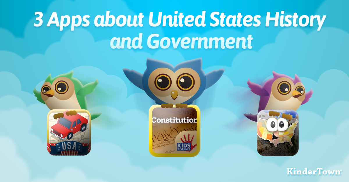 3 Apps about United States History and Government.
