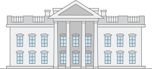 Supreme court building clipart.