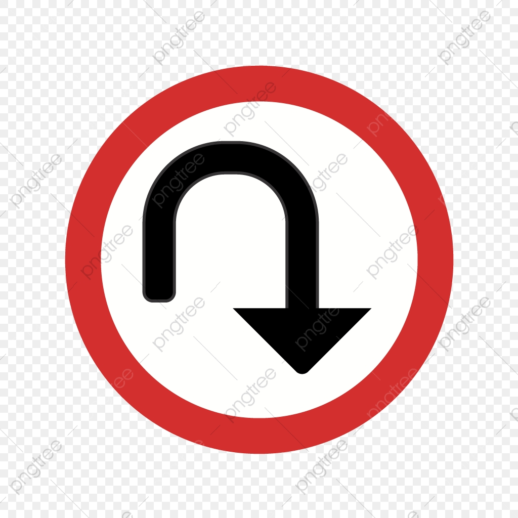 Vector U Turn Icon, Arrow Icon, Sign Icon, Turn Icon PNG and.