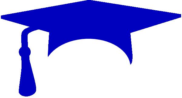 Royal Blue Graduation Cap Clip Art at Clker.com.