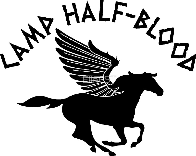 Camp Half Blood Digital Art: Stickers.