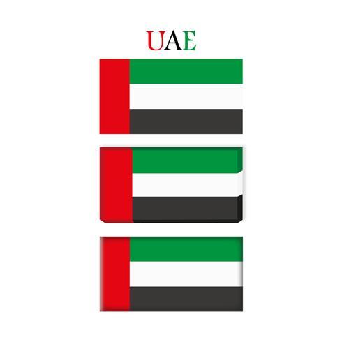 UAE Flag.
