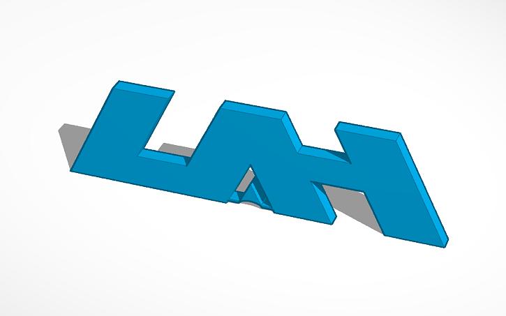 3D design UAH Logo.
