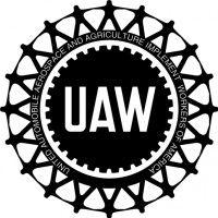 Yellow UAW Logo.