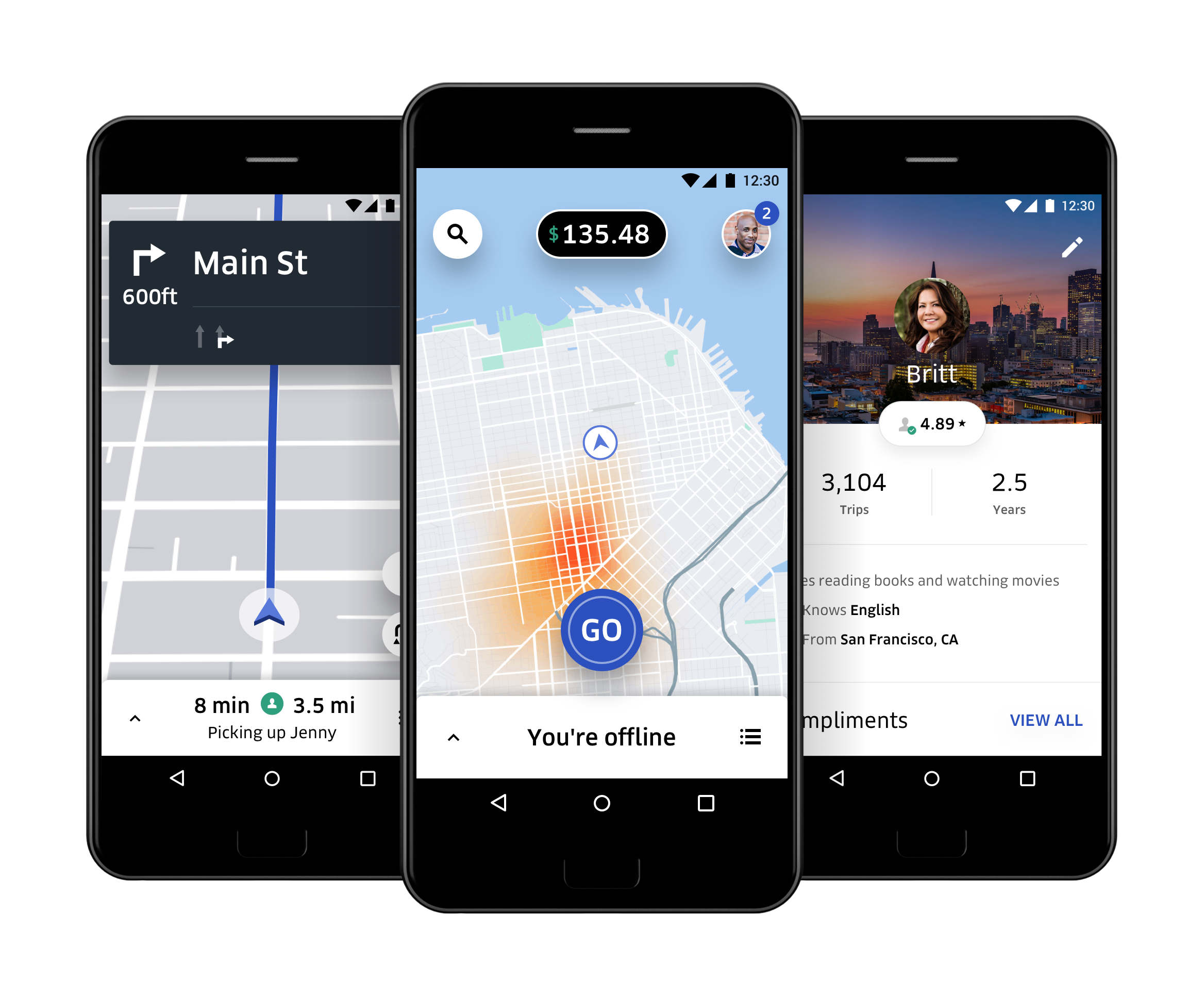 A New App, Built For and With Drivers.