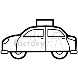 uber taxi vector icon . Royalty.
