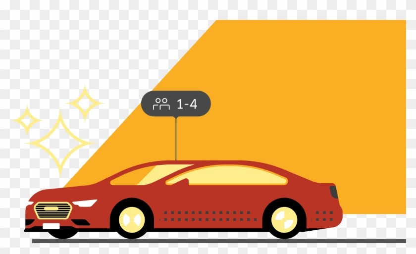 Transparent Uber Car Icon, HD Png Download.