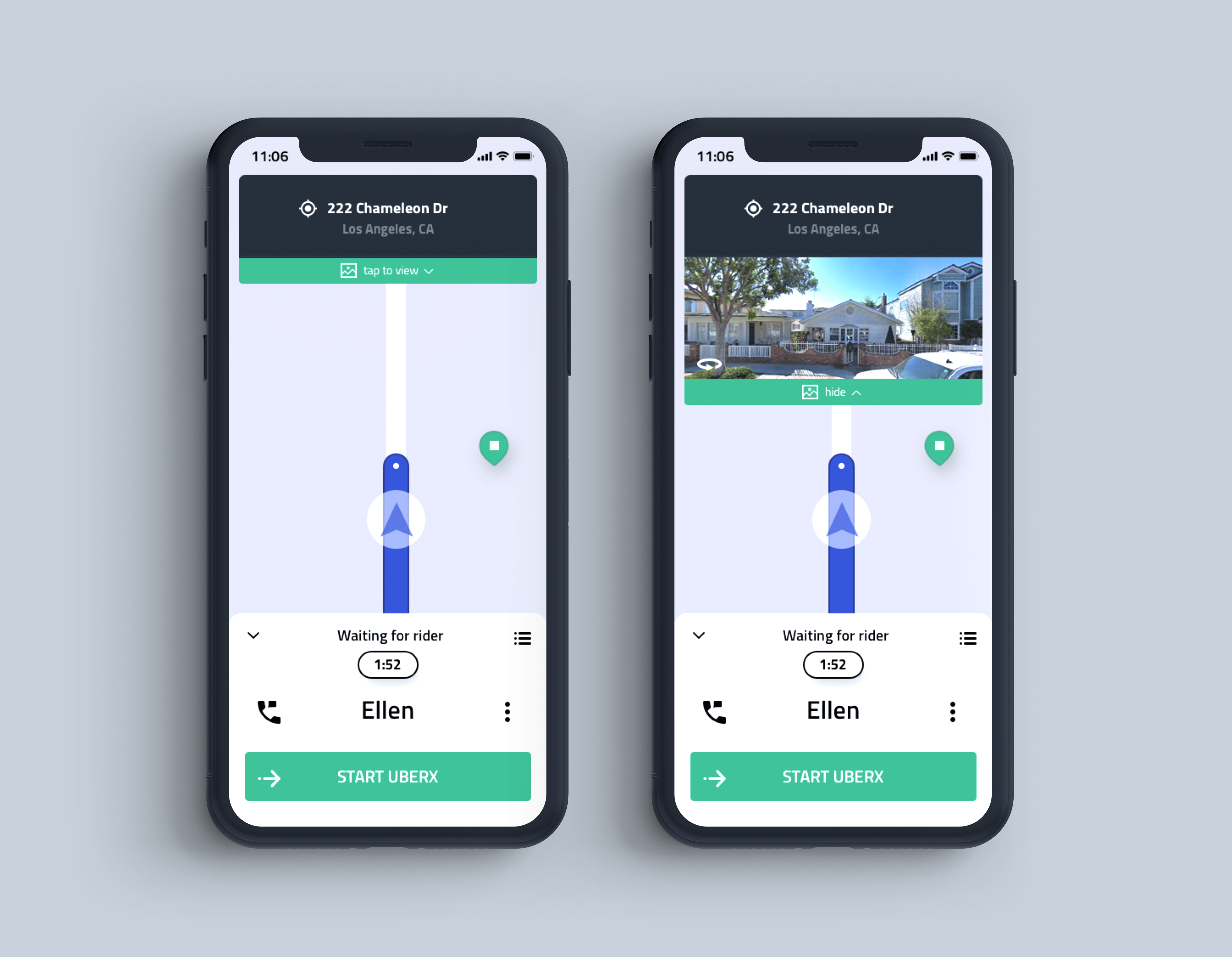 Context Through Imagery: Redesigning the Uber Driver.