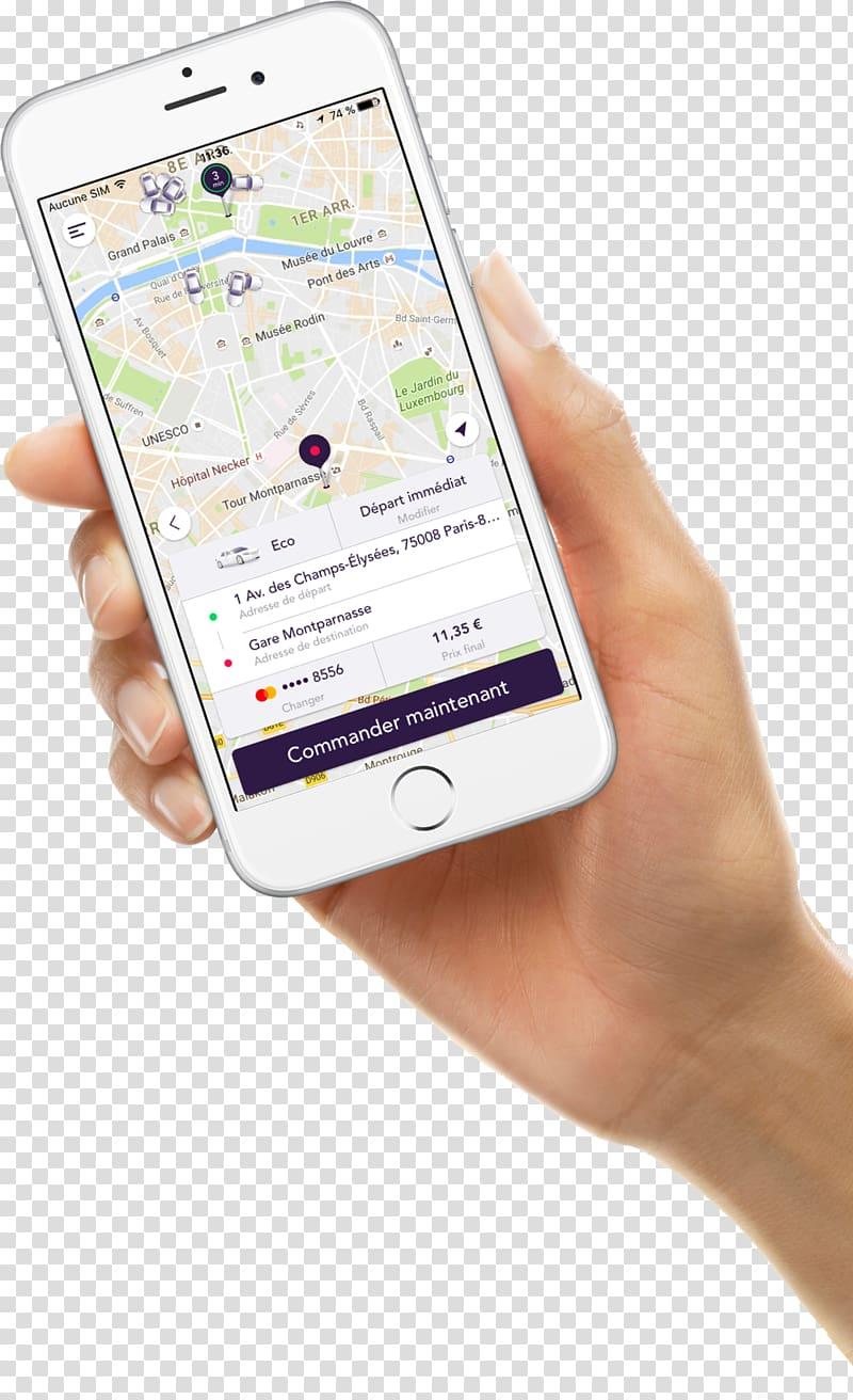 Smartphone Feature phone Uber Eats, smartphone transparent.