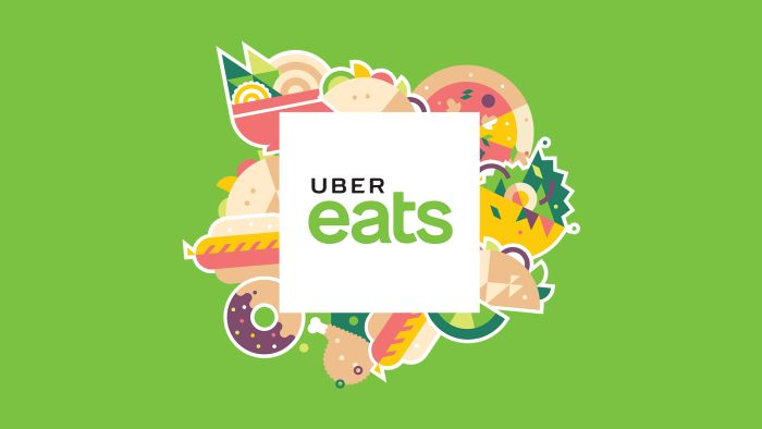 Celebrating one year of Uber Eats in Auckland.