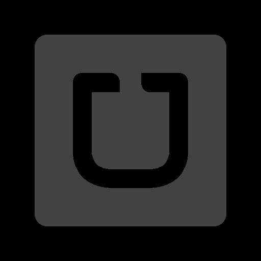 Uber Icon Free of Social Media & Logos I Glyph.
