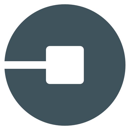 Car, driver, logo, social, social media, uber icon.